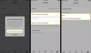 آموزش اتصال فیس بوک به اینستاگرام/ دسترسی به اینستاگرام از طریق فیس بوک/ تغییر اکانت فیس بوک در اینستاگرام /چگونگی ارسال عکس های اینستارگرام به فیس بوک